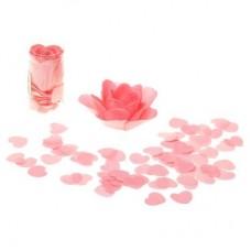 Мыльный серпантин Сердца с розой