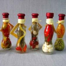 Фрукты в бутылке мал