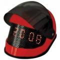 Часы - будильник мотоциклетный шлем 08C78