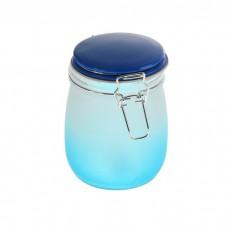 Банка для сыпучих продуктов Омбре 900 мл, голубая 868912