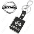 Брелок для ключей Nissan /кож. мет./