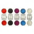 Часы женские на браслете с камнями, цветной микс 1024551