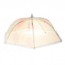 Сетка защитная для еды 60х60 см, Зонтик микс цвета 177340