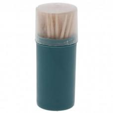 Зубочистки в пенале Extra, 100 шт, цвет МИКС