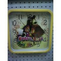 Часы настенные квадратные Маша и Медведь